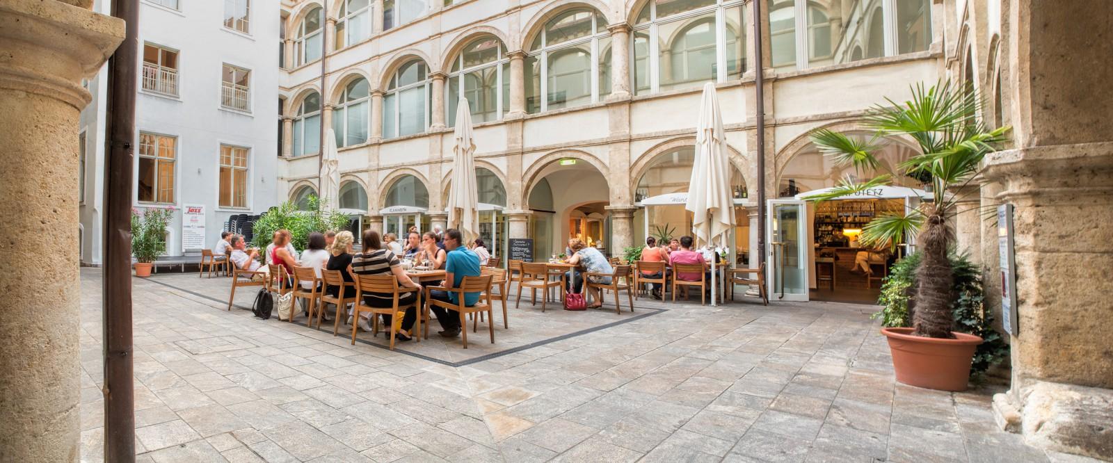 Restaurant Klapotetz Weinbar in Graz