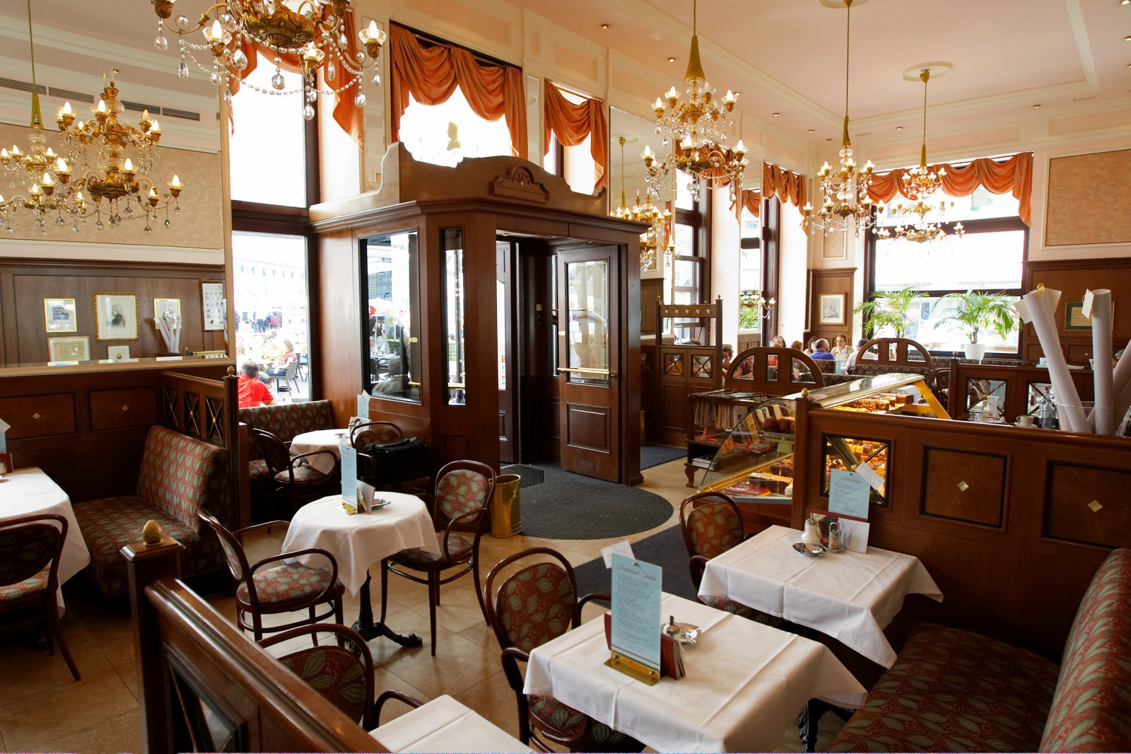 Cafe Mozart Salzburg Speisekarte
