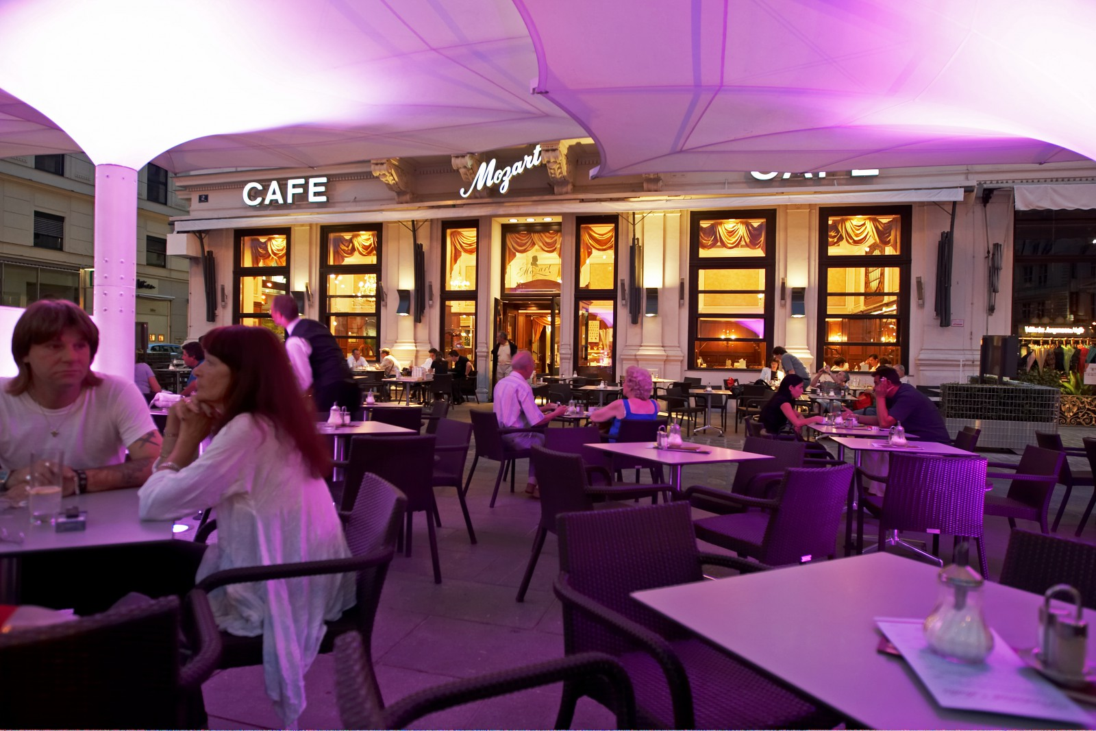 Cafe Mozart Wien Menu