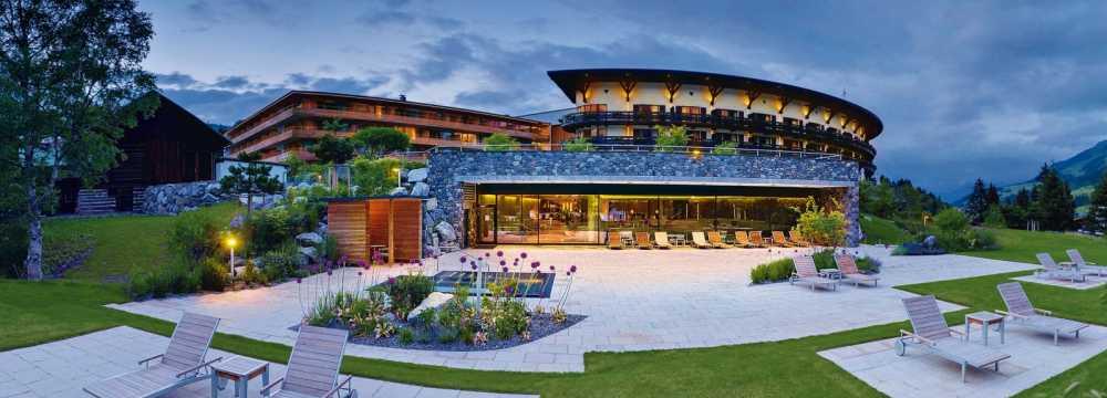 Kilian Stuba im Travel Charme Ifen Hotel in Hirschegg