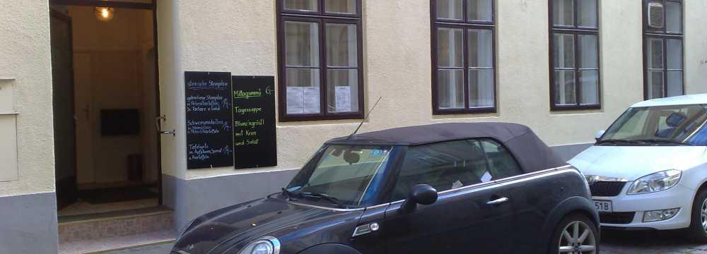 Beisl in der Sigmundsgasse in Wien