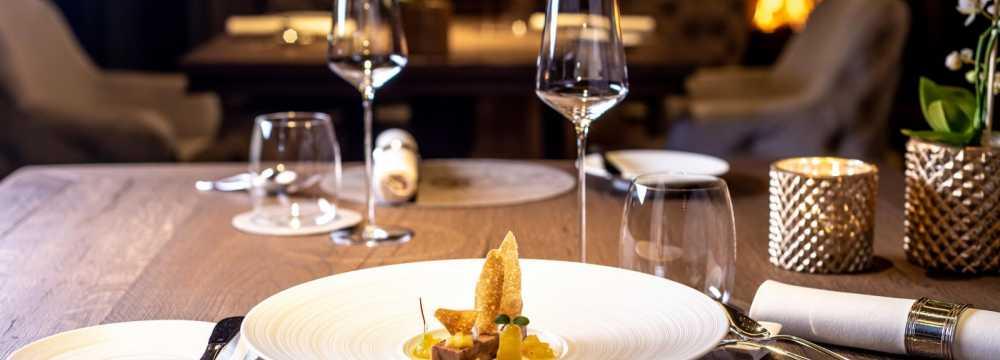 Restaurant Kilian Stuba im Travel Charme Ifen Hotel in Hirschegg
