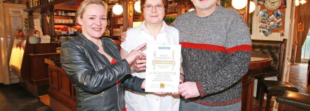 Cafe - Restaurant Gschamster Diener in Wien