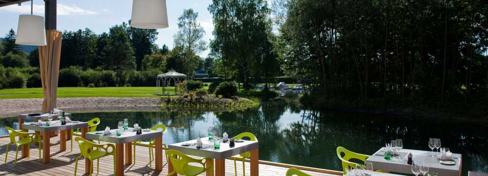 Restaurant Laguna im Seepark Hotel in Klagenfurt am Wörthersee