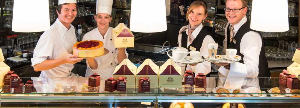 Cafe Konditorei im Warmbaderhof in Villach