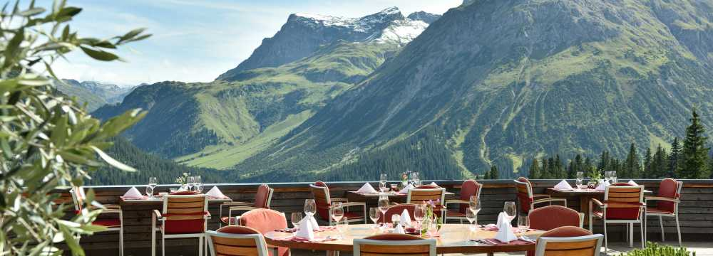 Restaurant HOTEL GOLDENER BERG in Lech