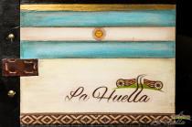 Logo von Restaurant La Huella argentinisches Steakhaus in Wien