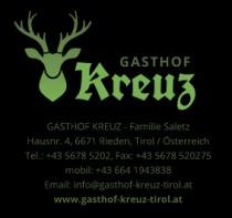 Logo von Restaurant Gasthof Kreuz in Rieden