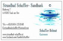 Logo von Restaurant Strandbad Schaffler SandbankFaaker See in Faak am See