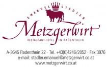 Logo von Restaurant Metzgerwirt in Radenthein