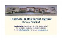 Logo von Landhotel  Restaurant Jagdhof in Guntramsdorf