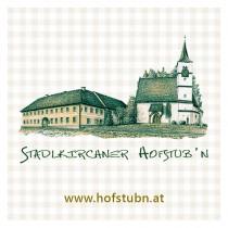 Logo von Restaurant Stadlkirchner Hofstub n in Dietach