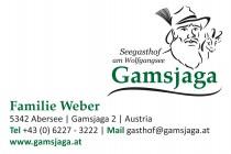 Logo von Restaurant Seegasthof Gamsjaga in Abersee