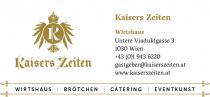 Restaurant Kaisers Zeiten in Wien